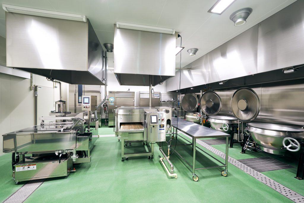 高齢者給食の新工場の写真01